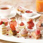 9種の苺デザートを味比べ 4月限定イチゴプレート