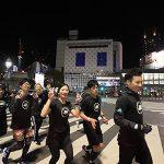 止まると失格?ノンストップで東京走破 マラソンGREEN LIGHT RUN TOKYO